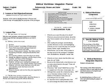 BWI Romeo and Juliet themes and prologue