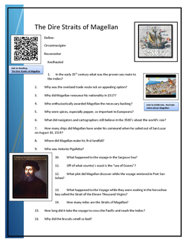 BYOD - Assignment Magellan reading and questions
