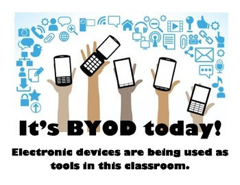 BYOD Electronics in Use Poster