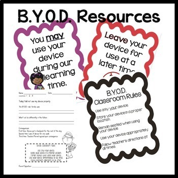 B.Y.O.D. Tips and Resources: Bring Your Own Device classroom