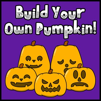 BYOP (Build Your Own Pumpkin - Halloween Jack-o'-Lantern Clip Art)