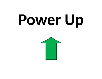 BYOT Power Up Sign
