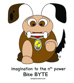 BYTES Power Smarts®:  Character Poster #12 - Bite BYTE