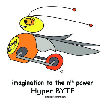 BYTES Power Smarts®:  Character Poster #3:  Hyper BYTE
