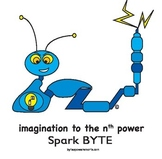 Multiple Intelligences:  BYTES Power Smarts® Character Poster #4 - Spark BYTE