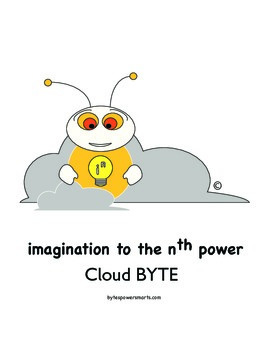 Multiple Intelligences:  BYTES Power Smarts® Character Poster #6 - Cloud BYTE