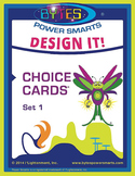 Multiple Intelligences:  DESIGN IT! CHOICE CARDS® - SET 1