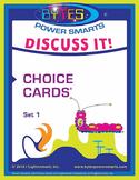 Multiple Intelligences: DISCUSS IT! CHOICE CARDS® - SET 1