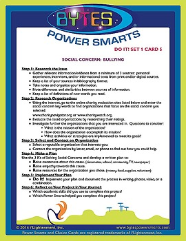 Multiple Intelligences:  DO IT! CHOICE CARDS® - SET 1, SOCIAL CONCERNS
