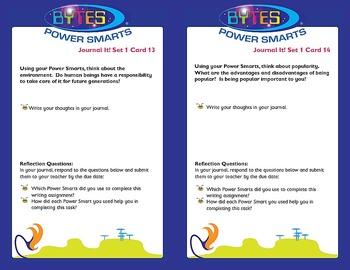BYTES Power Smarts®:  JOURNAL IT! CHOICE CARDS® - SET 1