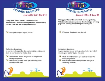 Multiple Intelligences:  JOURNAL IT! CHOICE CARDS® - SET 1