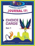 Multiple Intelligences:  JOURNAL IT! CHOICE CARDS® - SET 1