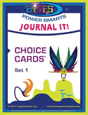 BYTES Power Smarts®:  JOURNAL IT! CHOICE CARDS® - SET 1