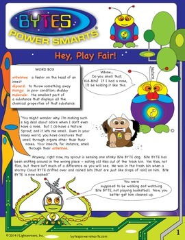 BYTES Power Smarts®:  Story #10:  Hey, Play Fair!