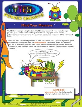 BYTES Power Smarts®:  Story #11:  Mind Your Manners!