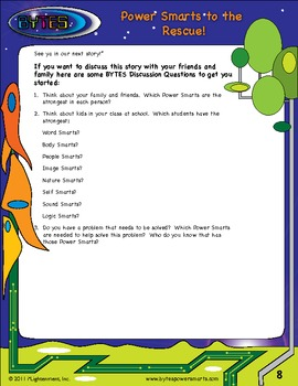 Multiple Intelligences:  Story #2 - Power Smarts® to the Rescue