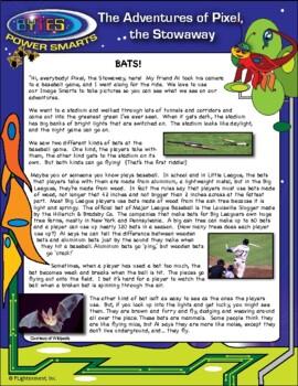 BYTES Power Smarts®: The Adventures of Pixel, the Stowaway, #4 - Bats