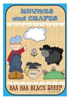 Ba Ba Black Sheep-Rhymes and Crafts