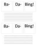Ba-Da-Bing graphic organizer
