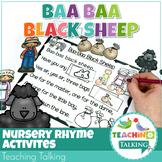 Nursery Rhyme Activities for Baa Baa Black Sheep