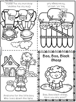 Baa Baa Black Sheep Activity Pack