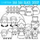 Baa Baa Black Sheep Clipart, Nursery Rhyme Clip Art