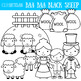 Baa Baa Black Sheep Clip Art, Nursery Rhyme