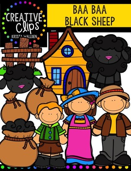 Baa Baa Black Sheep {Creative Clips Digital Clipart}