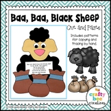 Baa Baa Black Sheep Cut and Paste