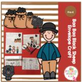 Baa, Baa, Black Sheep Envelope Craft