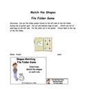 Baa Baa Black Sheep File Folder Game