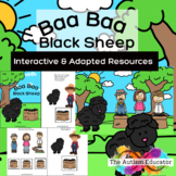 Baa Baa Black Sheep Interactive Resource for Autism and Sp