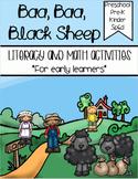 Baa Baa Black Sheep - Literacy & Math for Early Learners