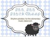 Baa Baa Black Sheep Music Lesson Plan
