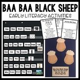 Baa Baa Black Sheep Nursery Rhyme Activities