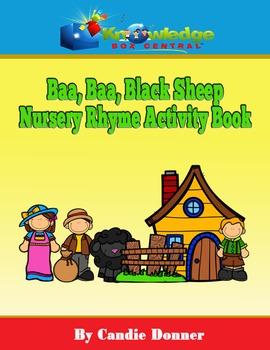 Baa, Baa, Black Sheep Nursery Rhyme Activity Book