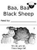 Baa Baa Black Sheep Nursery Rhyme Book