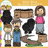 Baa Baa Black Sheep Nursery Rhyme Clip Art