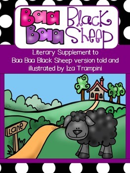 Baa Baa Black Sheep Nursery Rhyme Differentiated Literacy Unit