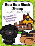 Baa Baa Black Sheep Nursery Rhyme Pack!