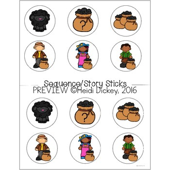 Baa Baa Black Sheep Nursery Rhyme Pack
