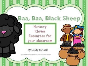 Baa Baa Black Sheep - Nursery Rhyme Resource