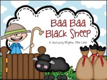 Baa Baa Black Sheep Nursery Rhyme Set
