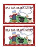 Baa, Baa, Black Sheep Poem and Little Book