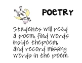 Baa Baa Black Sheep Poetry Center