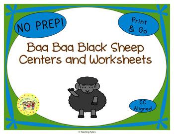 Baa Baa Black Sheep Activities