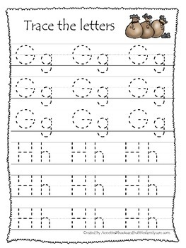Baa Baa Black Sheep themed A-Z Tracing preschool educational worksheets.