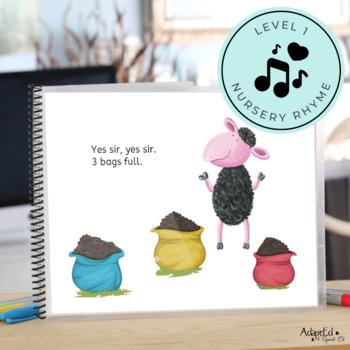Baa Baa Black Sheep Emergent Reader + Reading Comprehension