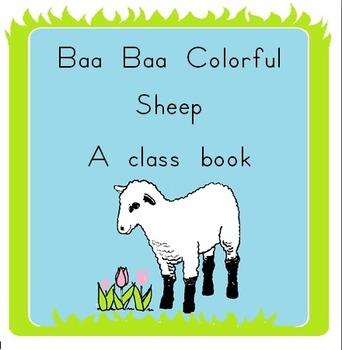 Baa Baa Colorful Sheep