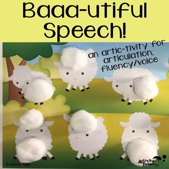 Baaa-utiful Speech for Articulation, Fluency and Voice